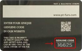 Genuine Code